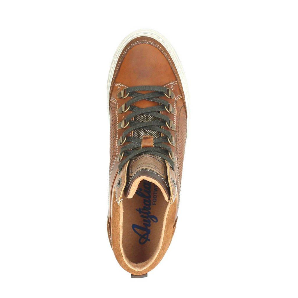 Milford Cognac Australian Australian Leren Leren Cognac Milford Sneakers Sneakers 0gAwq0Z