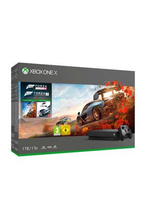 Xbox One X 1TB console + Forza Horizon 4 bundel