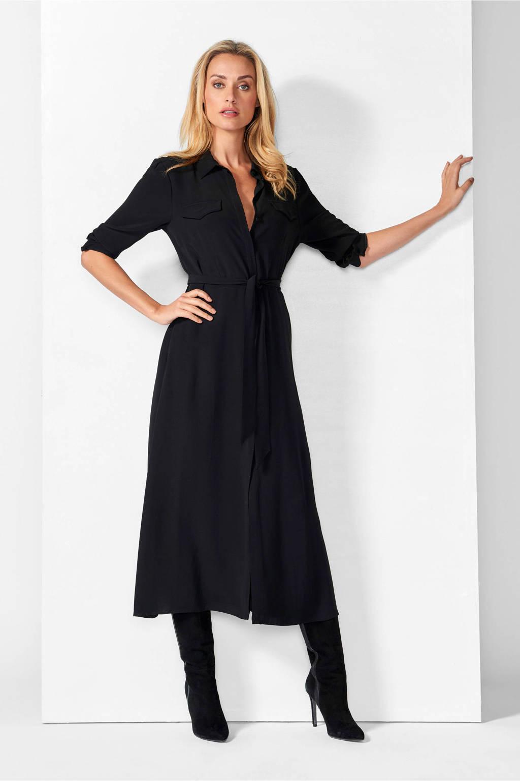 Mart Visser jurk zwart, Zwart