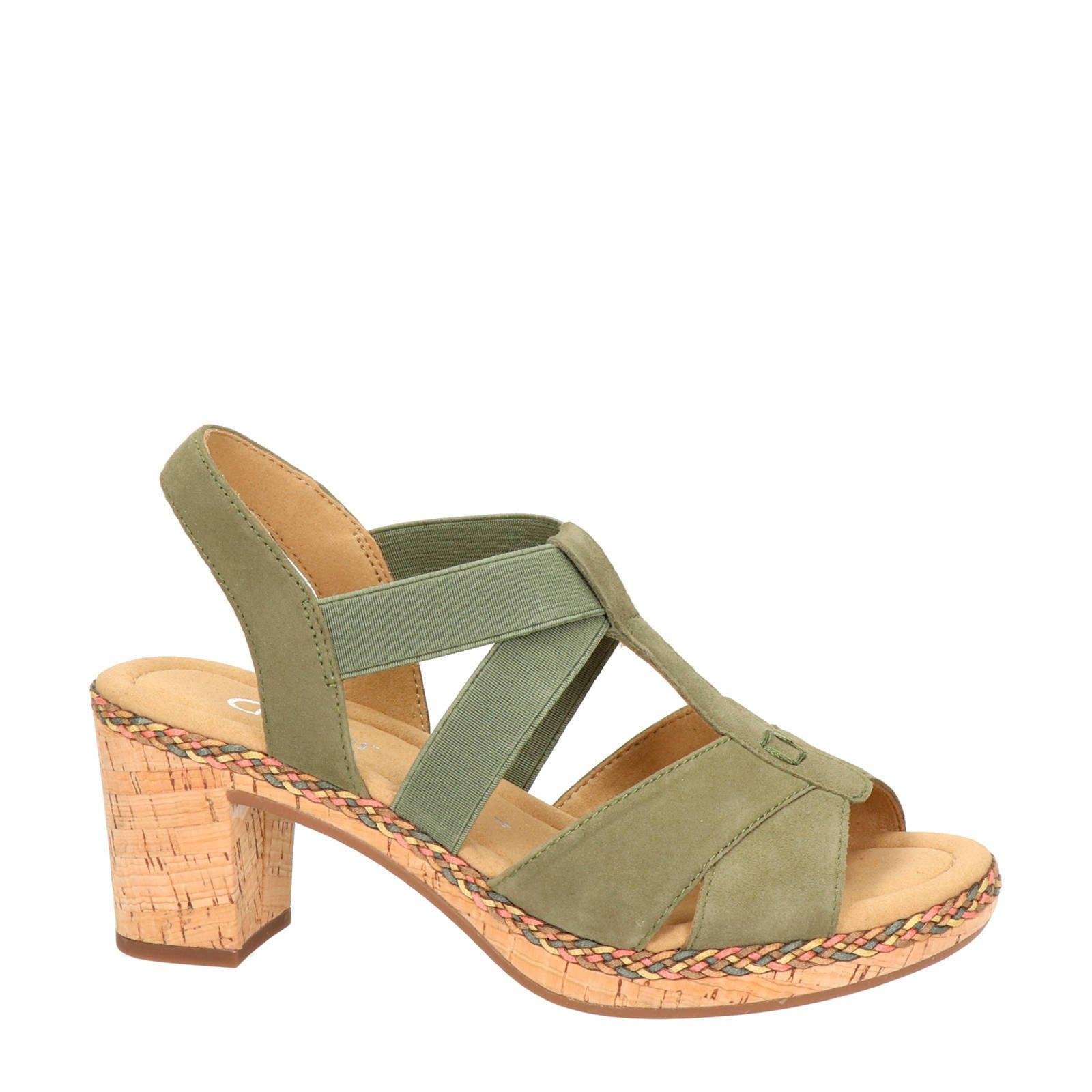 Sandalettes Suède Gabor Gabor Suède GroenWehkamp WYe2DHI9E
