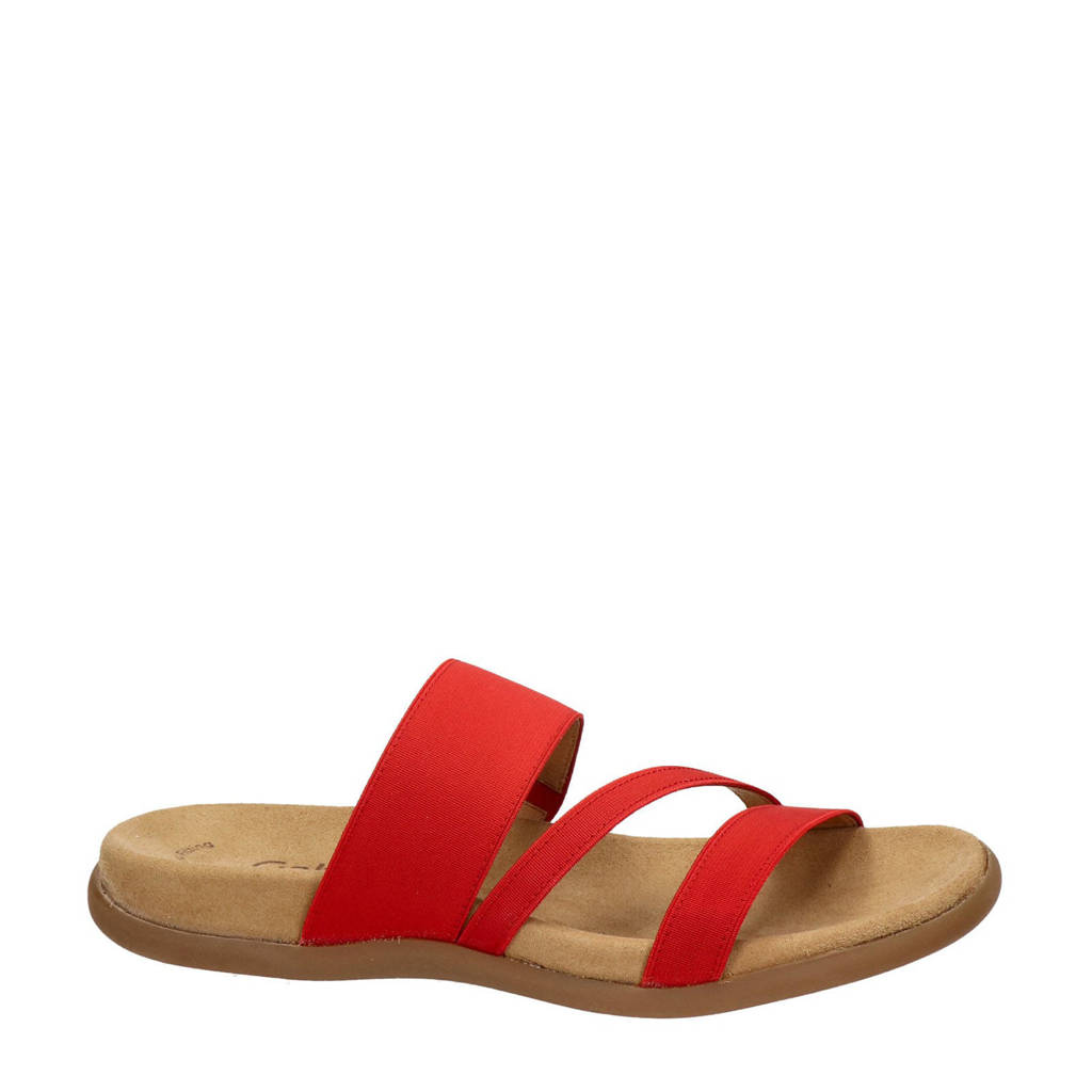 Gabor slippers rood, Rood