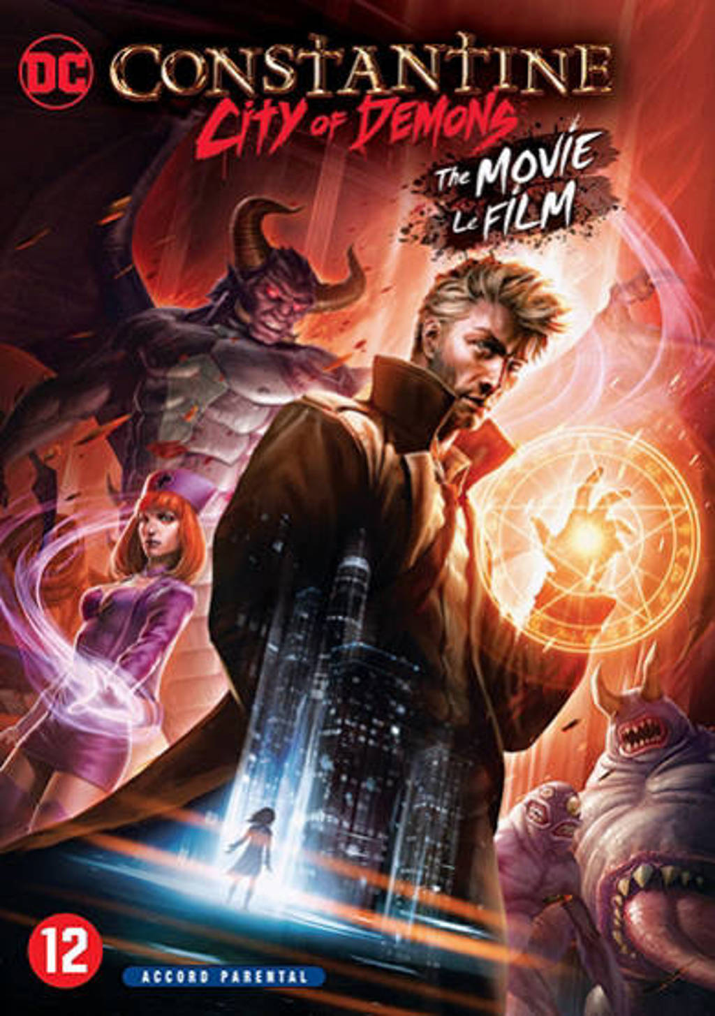 DC Constantine - City of demons (DVD)
