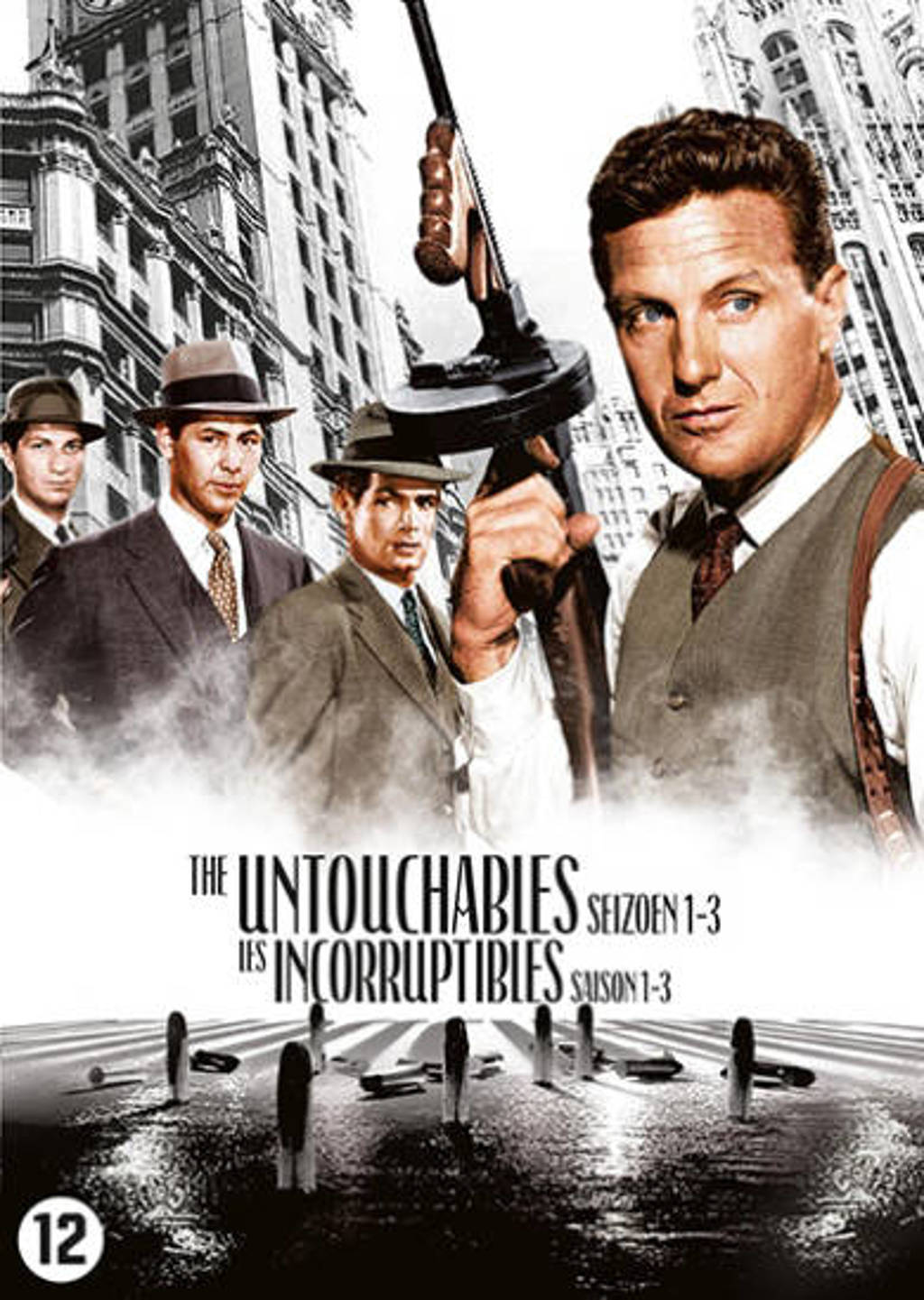 Untouchables - Seizoen 1-3 (DVD)