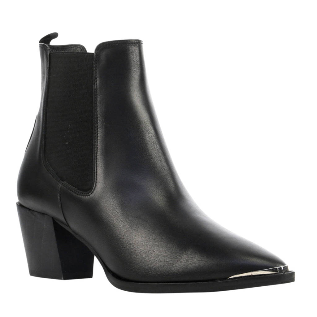 Toral leren chelsea boots zwart, Zwart