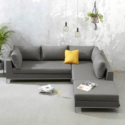 Exotan Sicilië loungeset RECHTS stone grey