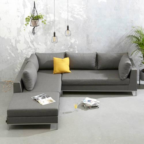 Exotan Sicilië loungeset LINKS stone grey