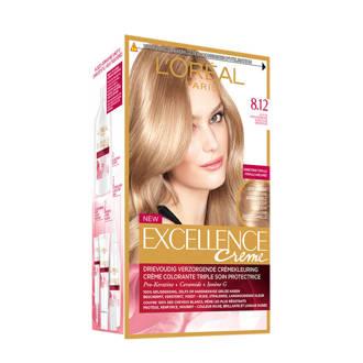 Excellence Crème haarkleuring - 8.12 Licht parelmoer blond