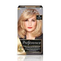 L'Oréal Paris Préférence haarkleuring - 8 Californie lichtblond