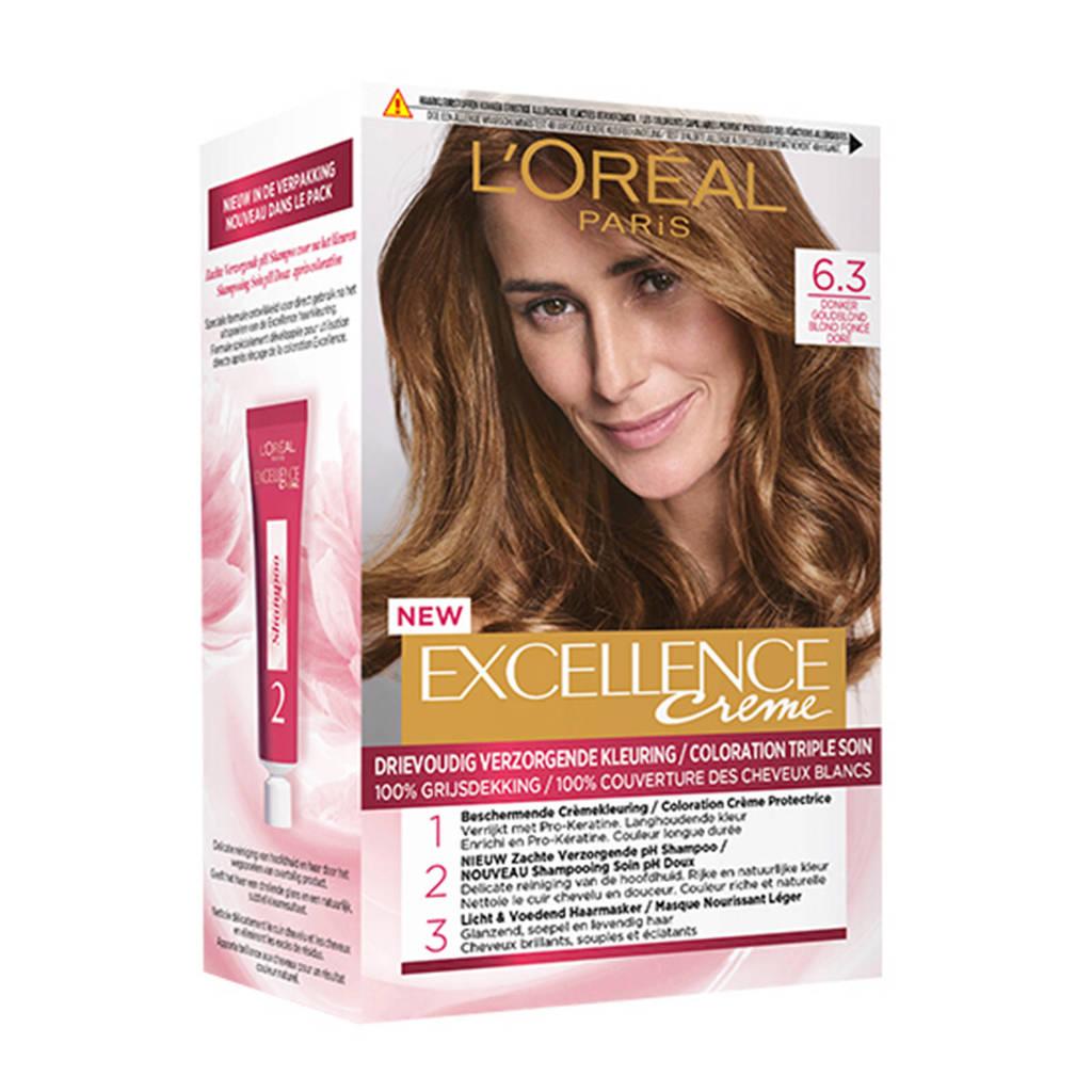 L'Oréal Paris Excellence Crème haarkleuring - 6.3 Donker Goudblond