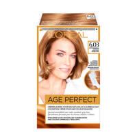 L'Oréal Paris Excellence Age Perfect 6.03 Donker Natuurlijk Goudblond