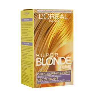 Super Blonde ontkleuringscrème toon op toon