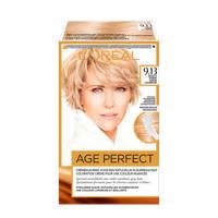 L'Oréal Paris Excellence Age Perfect 9.13 Zeer licht as goudblond, 9.13 Zeer Licht As Goudblond