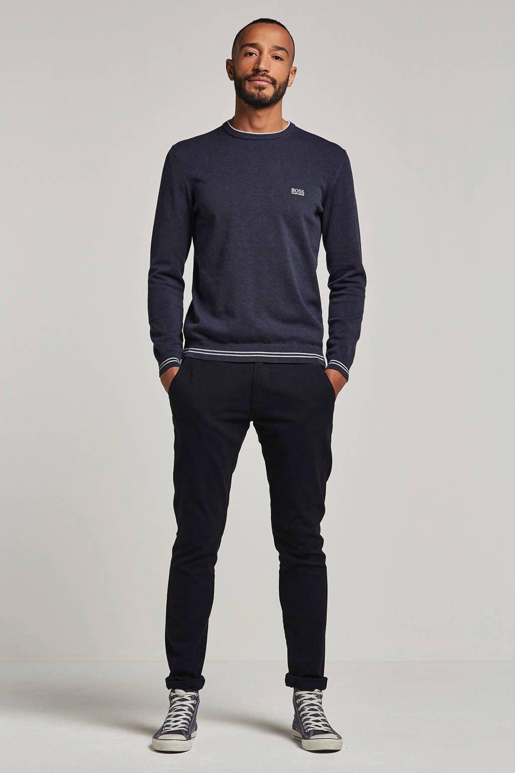 Boss Athleisure trui, Donkerblauw