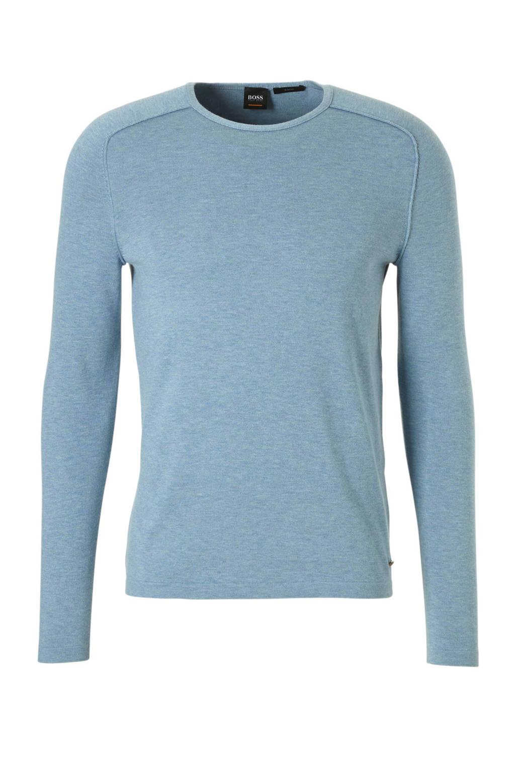 Boss Casual trui, Lichtblauw