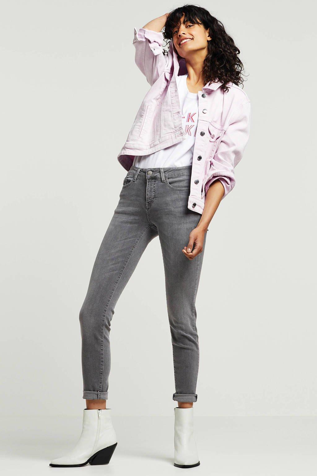 Saint Tropez skinny fit jeans grijs, Grijs
