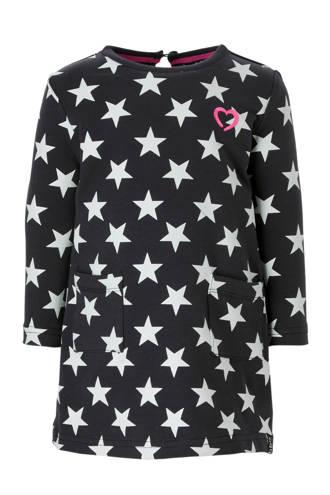 jurk met sterren antraciet