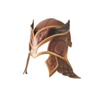 Efteling Raveleijn helm bruin incl. masker Joost