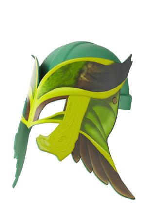 Raveleijn helm groen incl. masker Maurits
