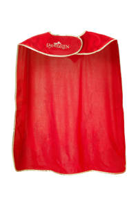 Efteling Raveleijn cape rode ruiter Thomas, Rood
