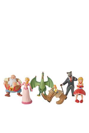 Sprookjesbos speelfiguren 6 stuks