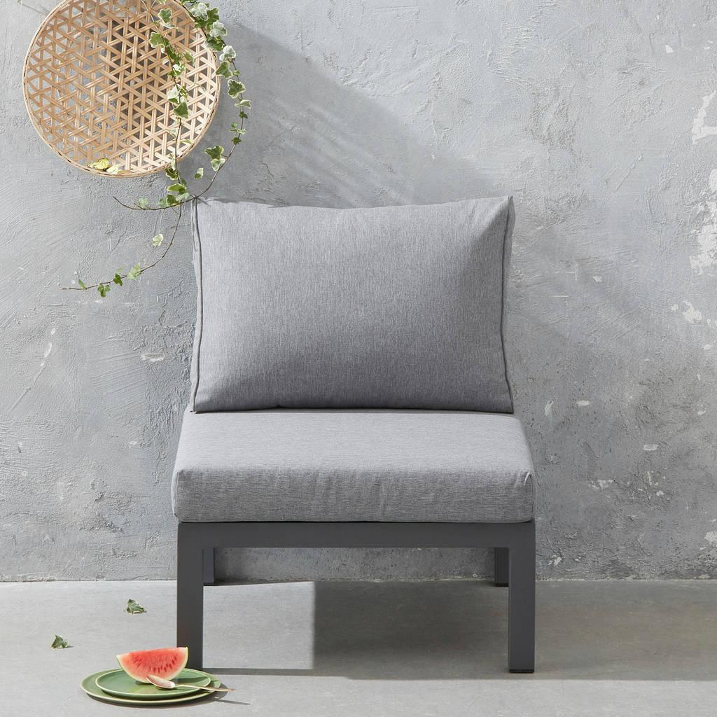 Exotan loungestoel  La Vida (aluminium), Antraciet/grijs