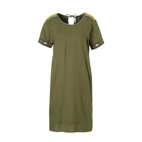 whkmp's own gevoerde jurk met borduur en kralen