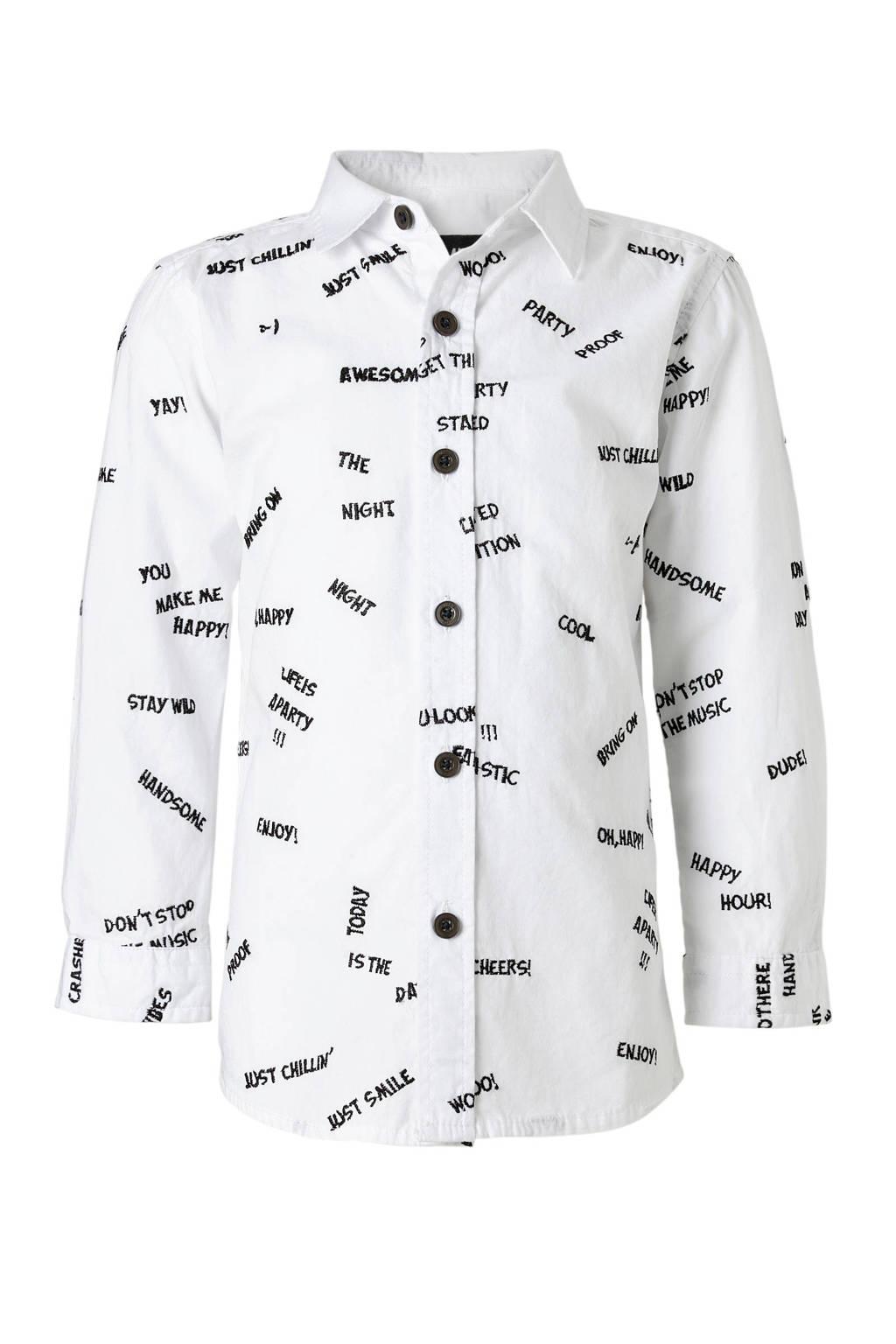 Mitch overhemd Zeff, Off White