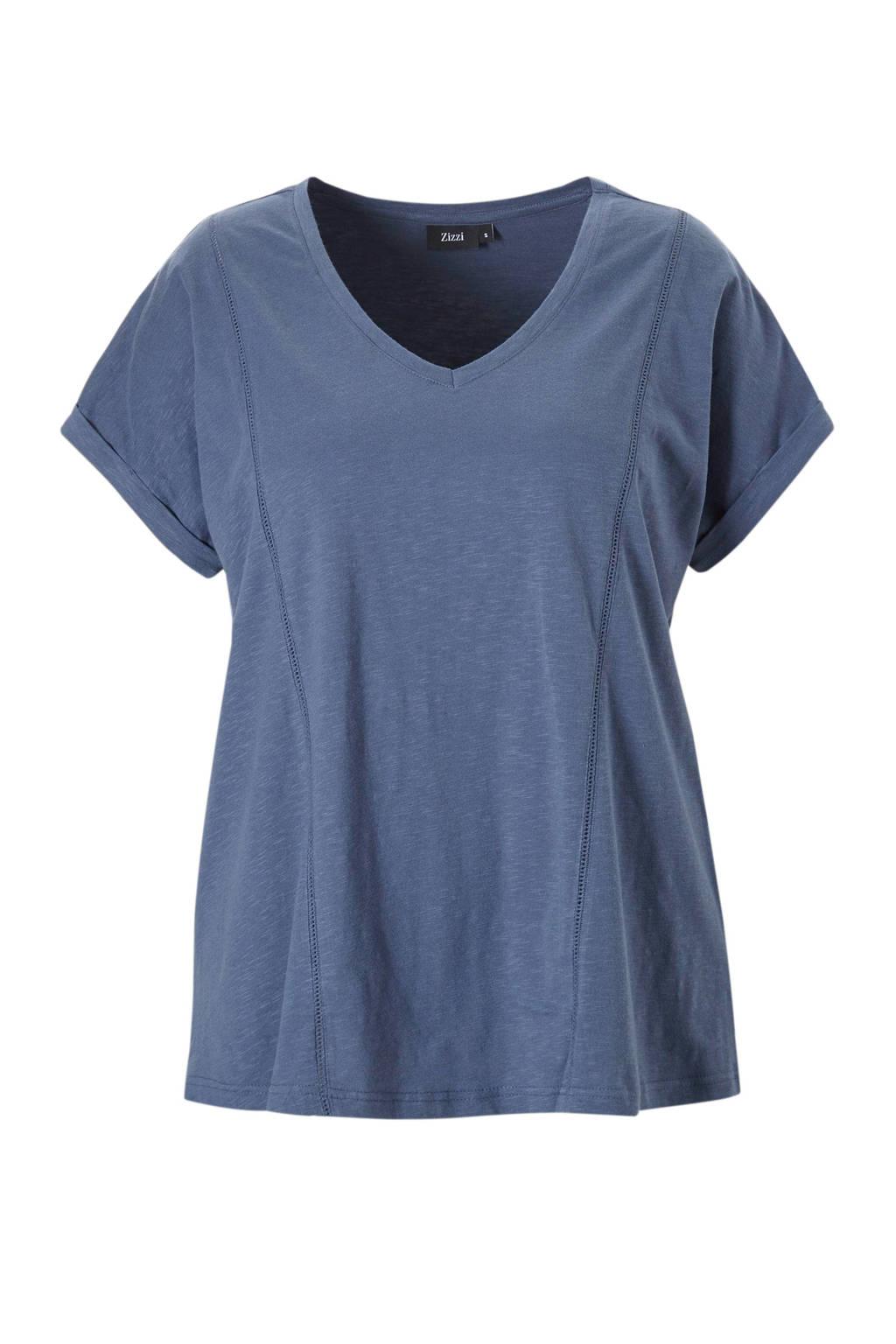 Met Zizzit shirt hals Zizzit shirt V Met wUvITx