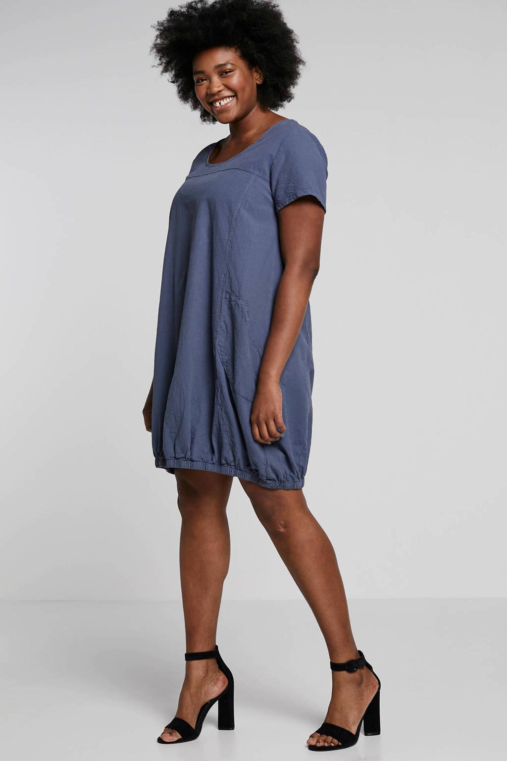Zizzi jurk blauw, Blauw
