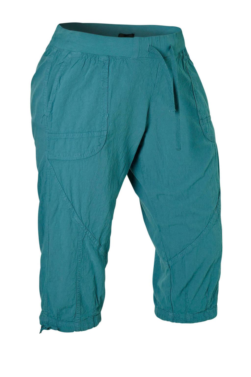 Zizzi loose fit capri turquoise, Turquoise