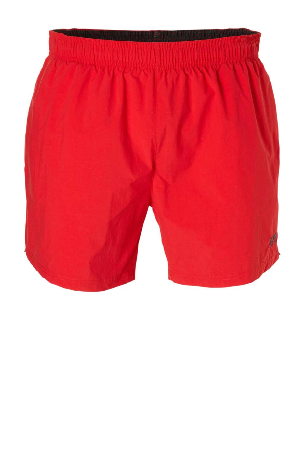 BOSS zwemshort met zakken rood, Rood