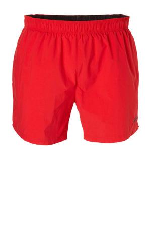 zwemshort met zakken rood