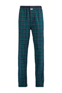 America Todaygeruite pyjamabroek Nathan groen/blauw