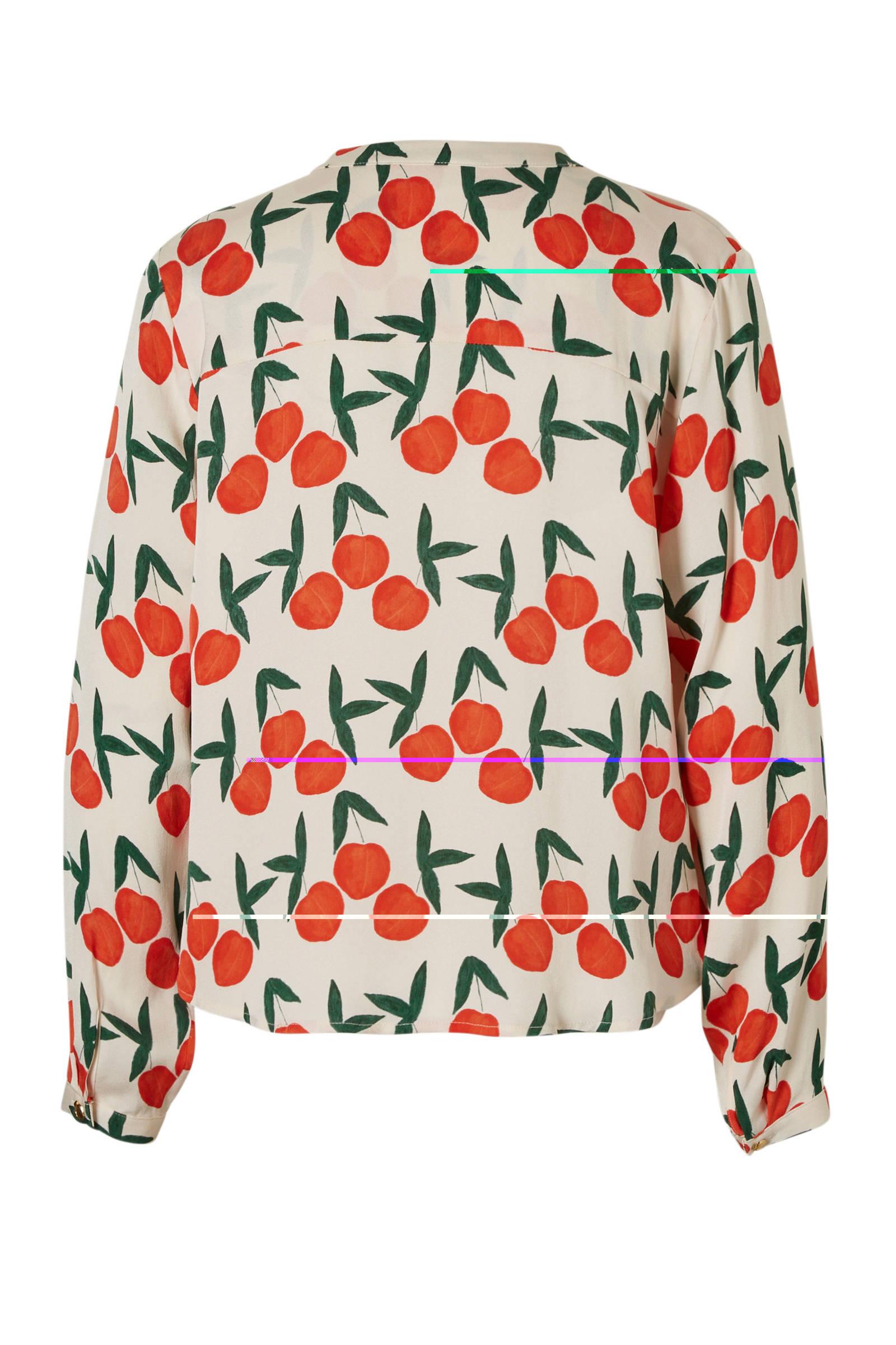 Chapot print met Sunset Fabienne blouse vd1Yxwq