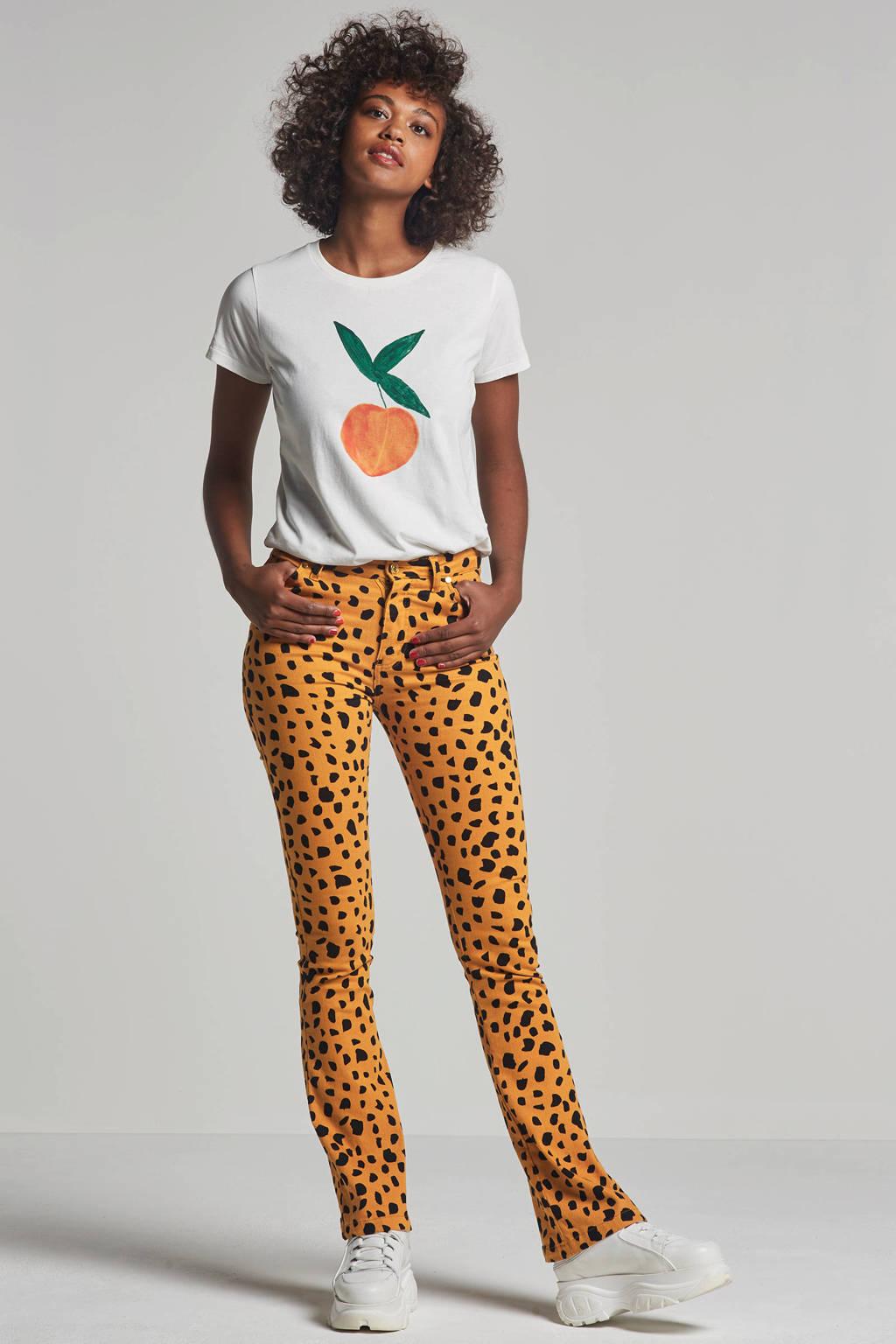 Fabienne Chapot T-shirt wit, Wit