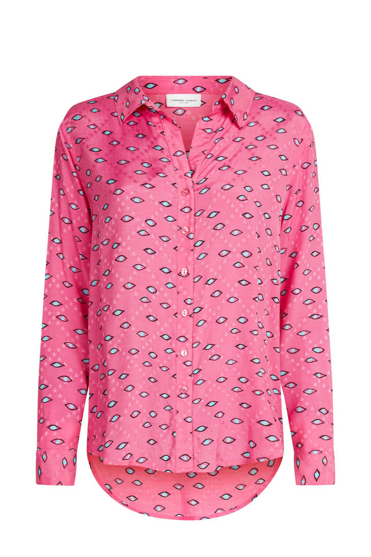 Lily all Fabienne print blouse met Chapot over wIqxr5qvB