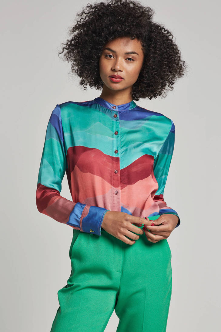 Muses met print all over Chapot blouse Fabienne fzHaA5