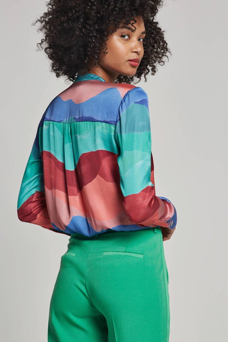 Muses met print all over Chapot blouse Fabienne fzHaA5