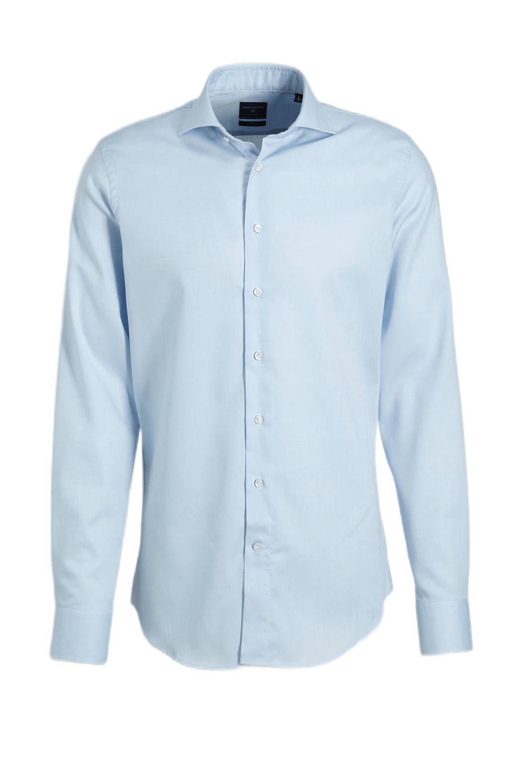 Profuomo slim fit overhemd, Blauw