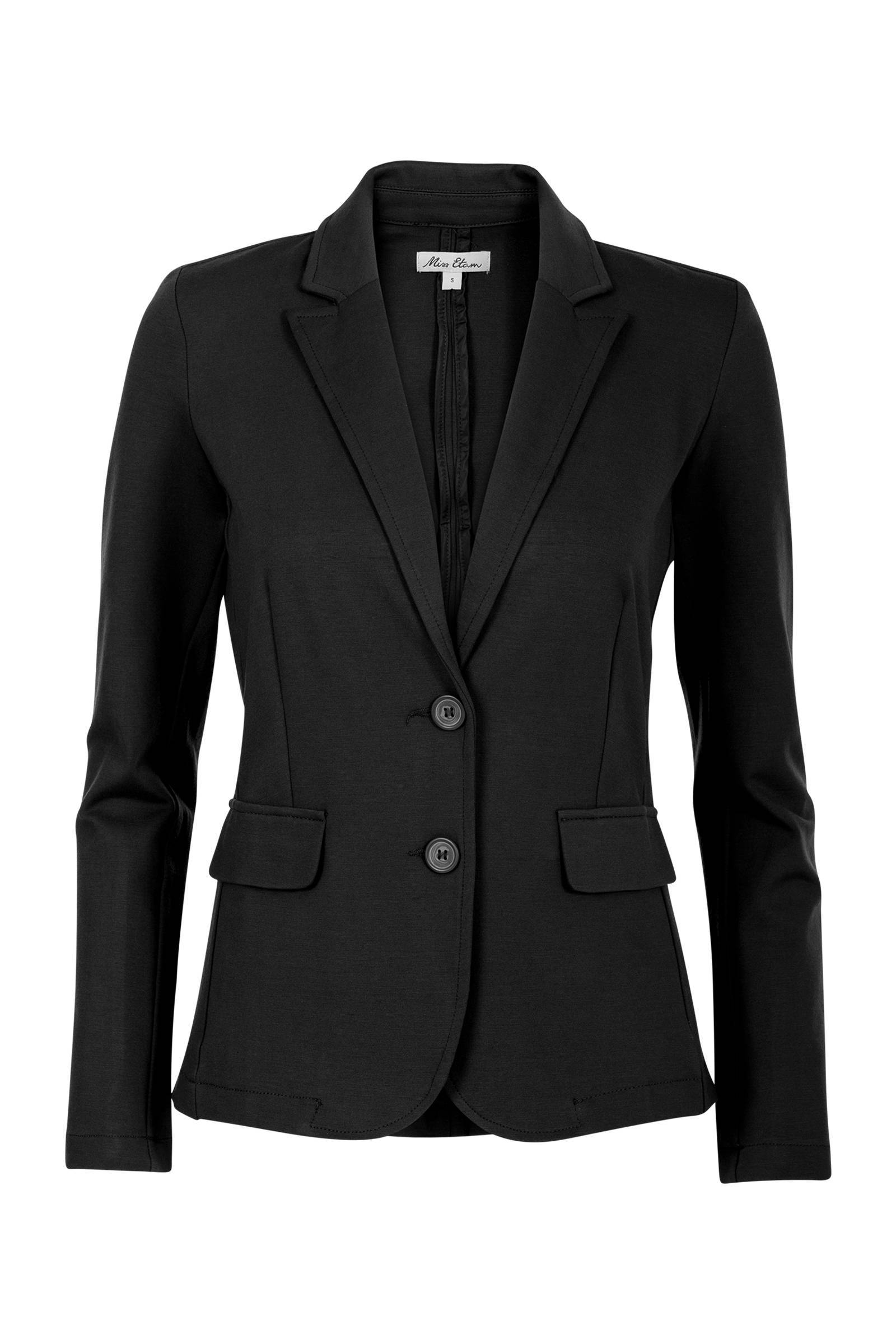 slim fit blazer zwart