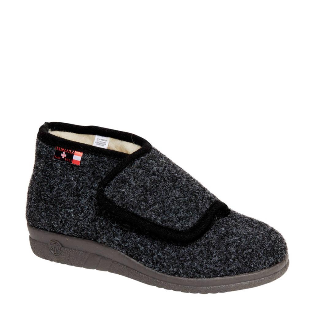 vanHaren Casa Mia pantoffels grijs, Grijs