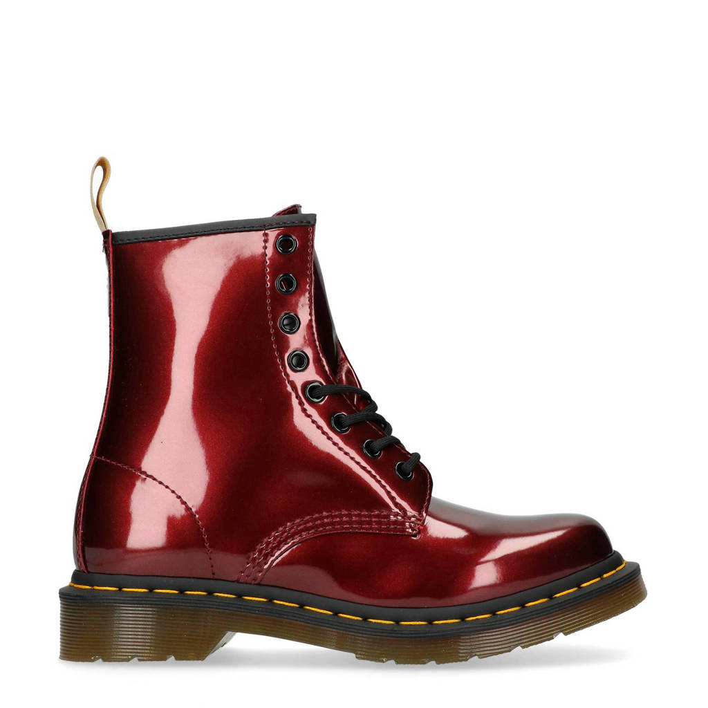 Dr. Martens veterboots rood, Rood