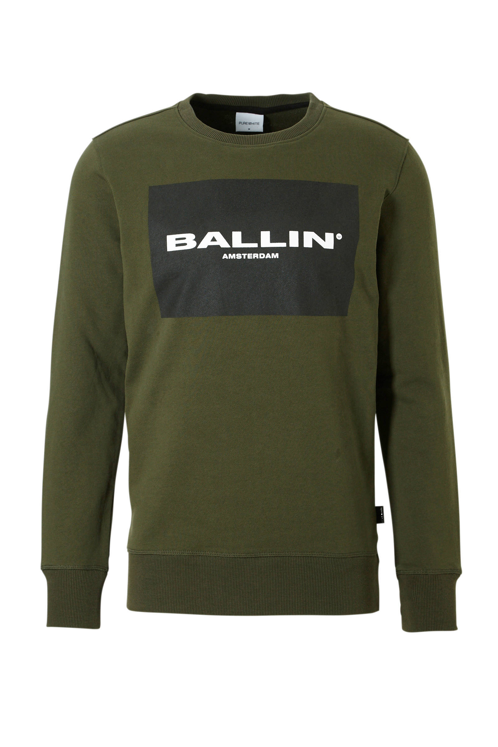 Purewhite Ballin sweater grey