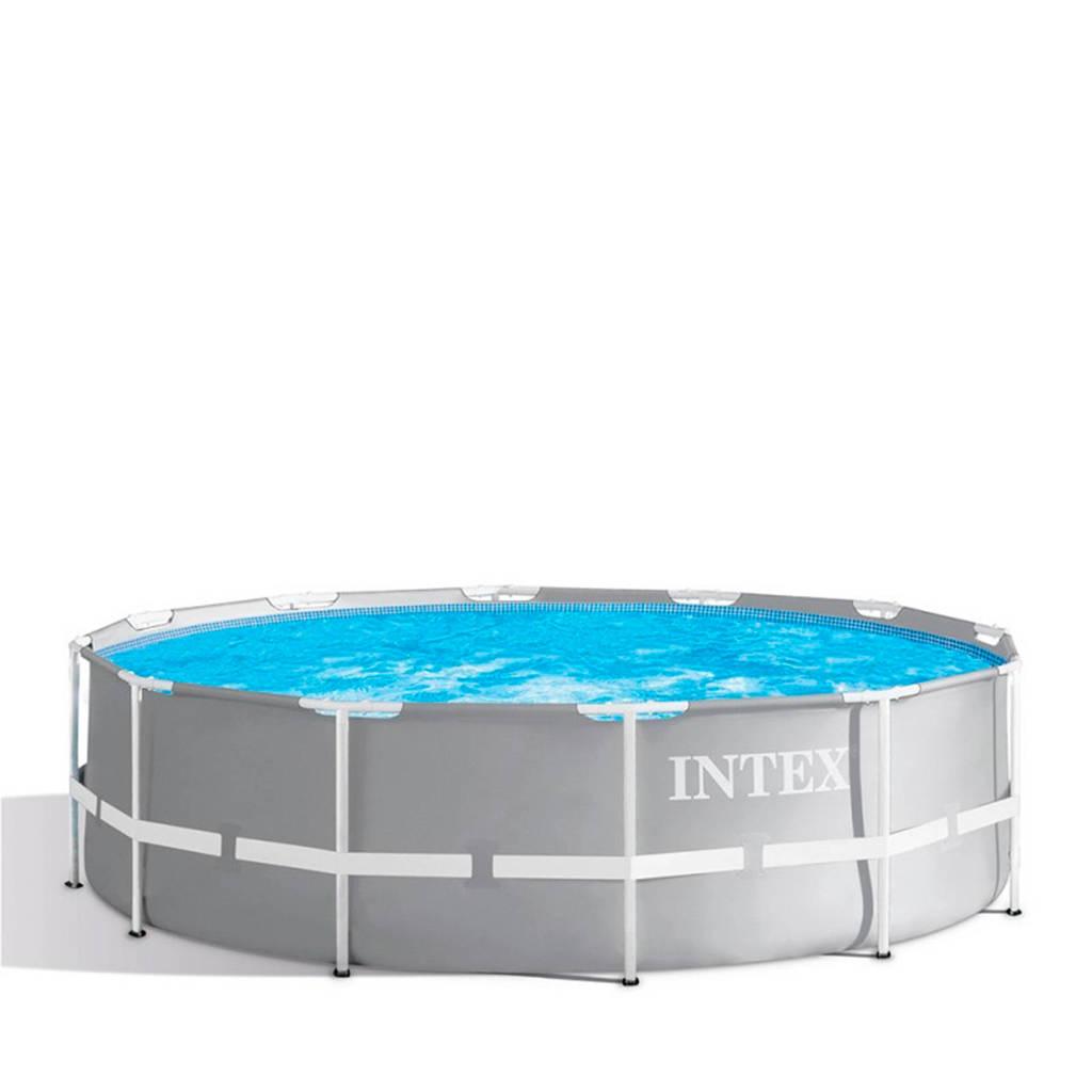 Intex Prism frame zwembad (Ø366x99 cm) met filterpomp, Grijs