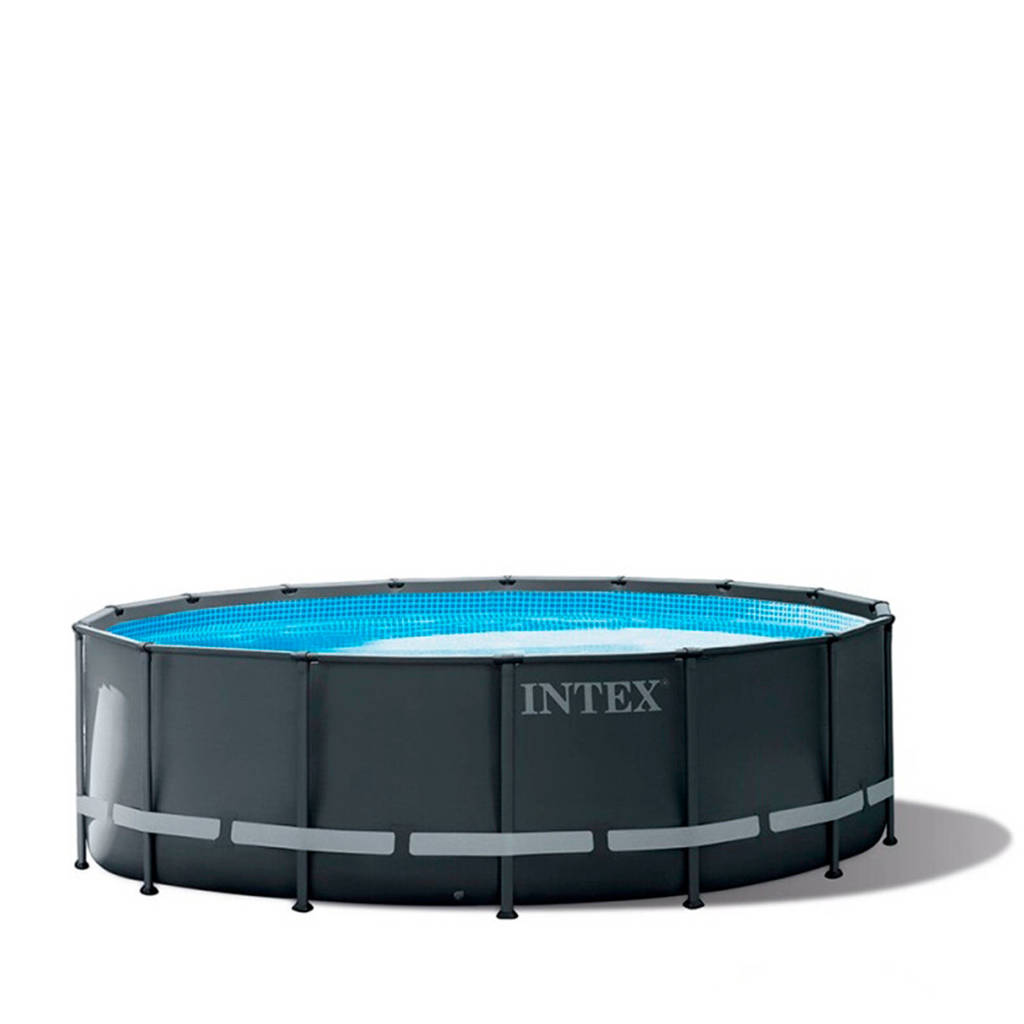 Intex Ultra XTR frame zwembad (Ø488x122 cm) met zandfilterpomp