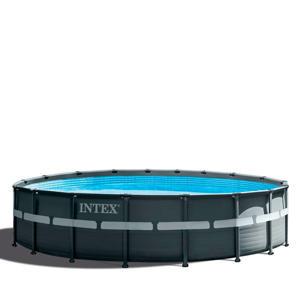 frame zwembad (Ø549x132 cm) met filterpomp