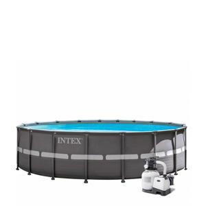 frame zwembad (Ø610x122 cm) met filterpomp