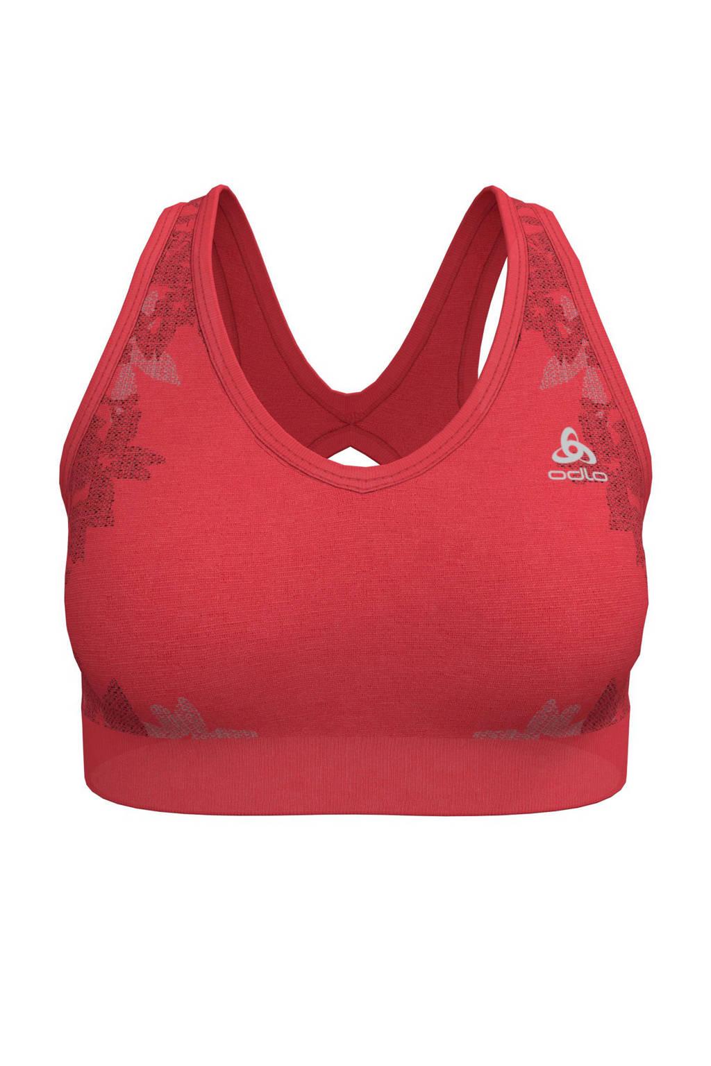 Odlo Level 3 sportbh rood, Rood