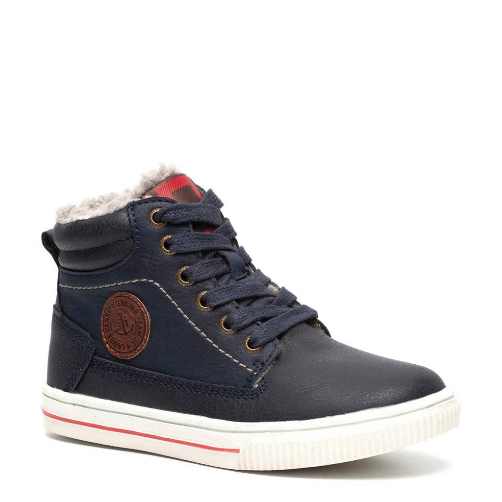 e2abbe1fad8 Scapino Blue Box sneakers zwart, Zwart/blauw