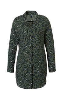 Eksept blouse met luipaardprint (dames)